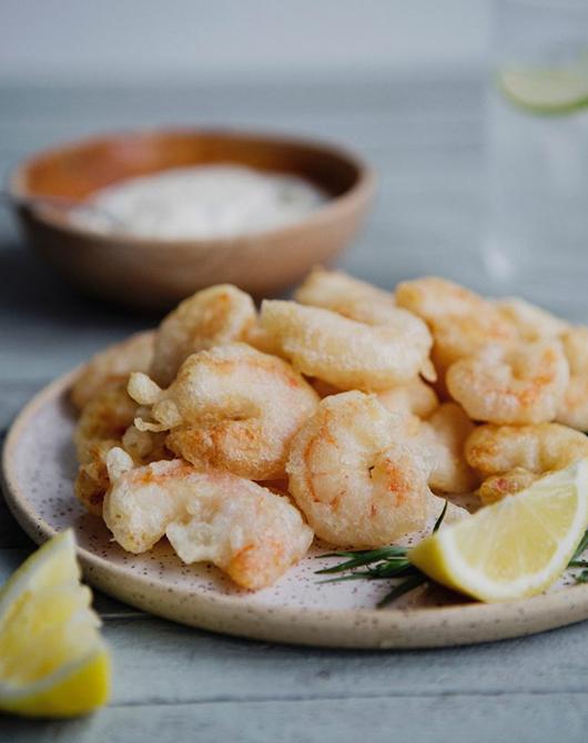 Montellier Tempura Shrimp